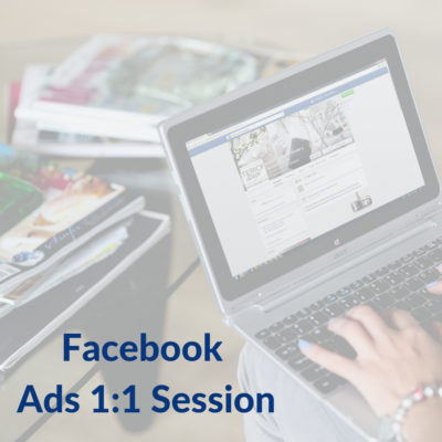 Facebook Ads 1:1 Session